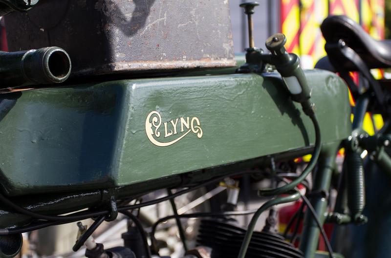 1916 Clyno 5.6hp Motorcycle