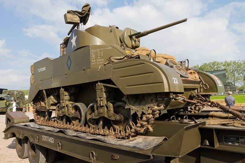 1942 M3 Stuart Tank