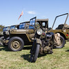 Motorbike and Jeeps