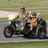 1940s Norton 'Big 4' motorcycle & sidecar combination