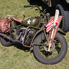 US Army Motorbike