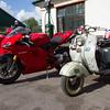 Ducati 1098s / Lambretta Scooter