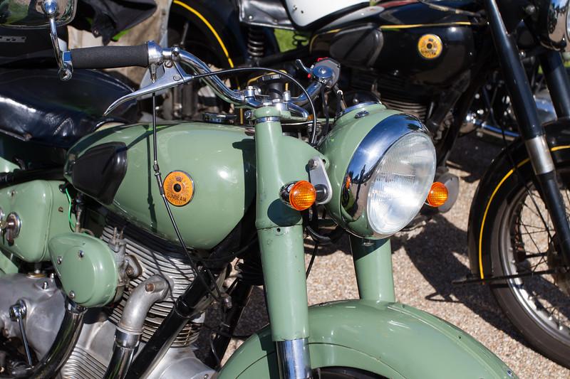1951 Sunbeam S7 Deluxe Motorbike