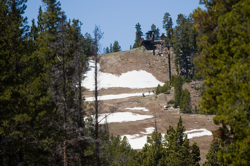 "Search teams comb Eldora Mountain Resort for human remains on Thursday,  after a boot with a human foot and leg bones inside it was found on the property.<br /> More photos:  <a href=""http://www.dailycamera.com"">http://www.dailycamera.com</a><br /> Autumn Parry/Staff Photographer<br /> June 2, 2016"