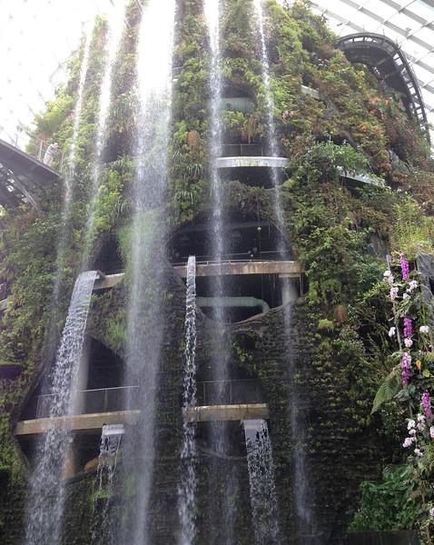 35 metres artificial stream