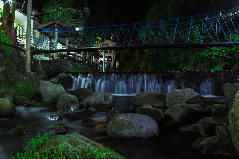 Panicuason waterfalls