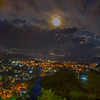Moon rise in Baguio