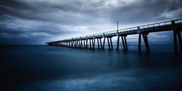 Pier Into the Deep Blue