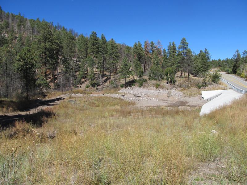 Water Canyon Trail along NM 501