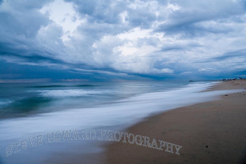 Stormy Beach Newport