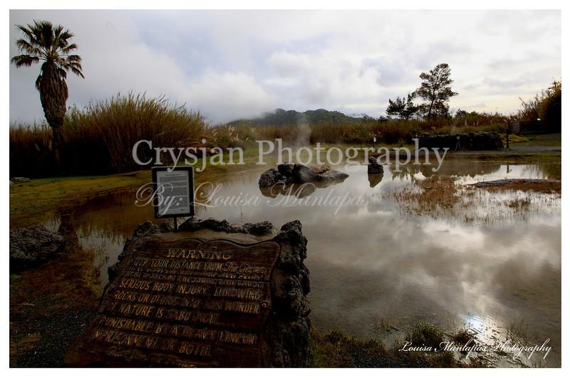 Old Faithful Geyser at Calistoga CA