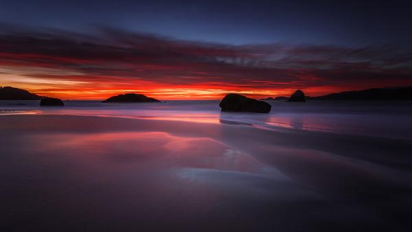 Marshall Beach Sunset