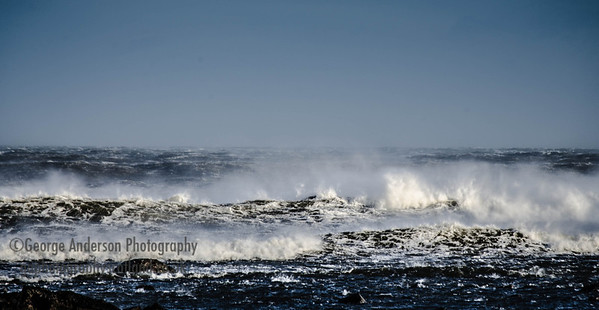 Wild Sea East Lothian Scotland