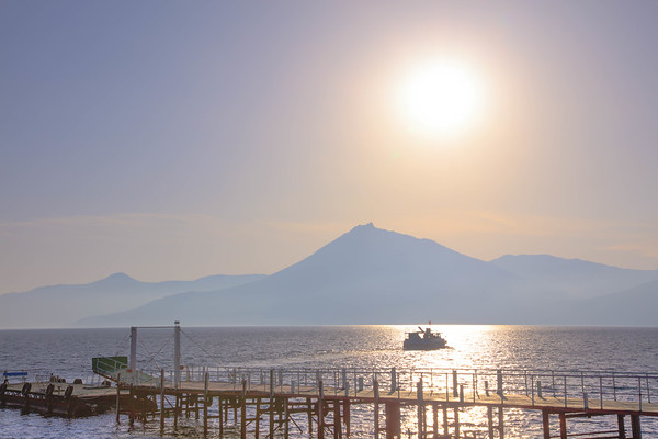 Pastel Dusk, Lake Shikotsuko