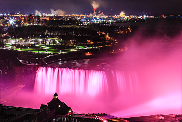 Niagara Falls in April, Ontario, Canada