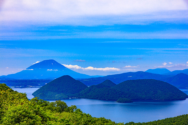Summer, Lake Toya &Mt.Yotei