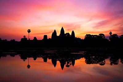 Siem Reap reflection