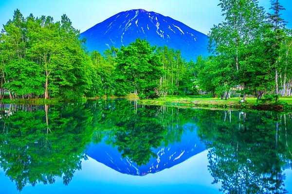 Blue Moment, Mt. Yotei, Kutchan