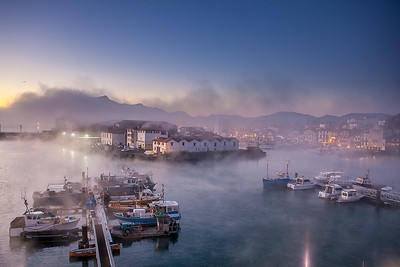 Morning mist, St Jean de Luz, France