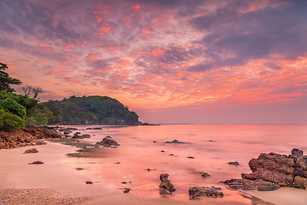 Dramatic Sunrise Seascape