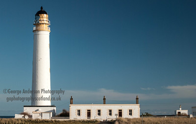 Barns Ness Lighthouse East Lothian Scotland