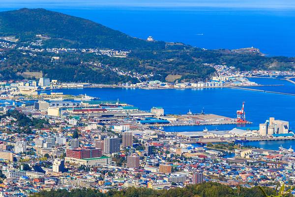 Otaru Harbor, Hokkaido, Japan