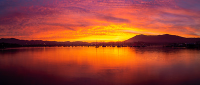 Txingudi sunset