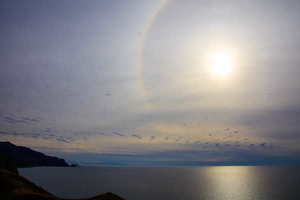 Sun Halo, Hokkaido, Japan