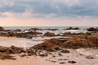 Tropical seascape in Rayong, Thailand