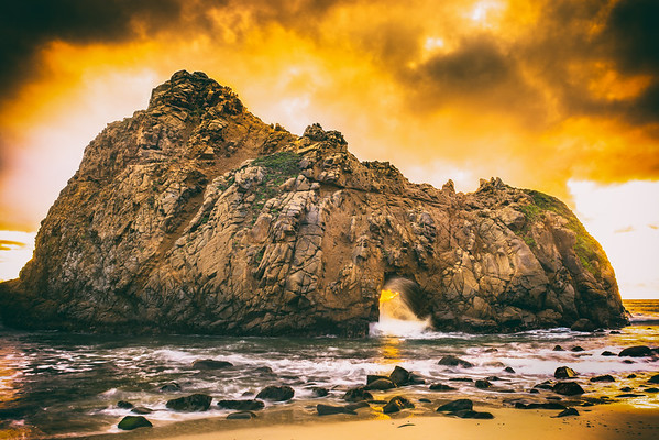 The Key Hole (Big Sur CA)