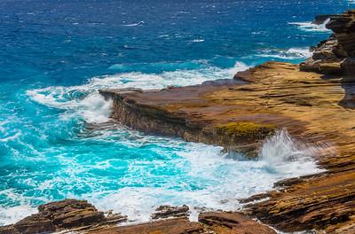 A Hawaiian Seascape (Oahu HI)