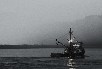 A Crabber returns to port