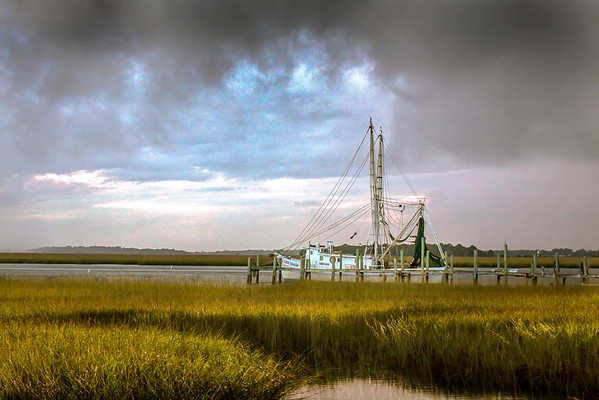 """Lowcountry Dock"" (digital photograph) by Jerold Hale"