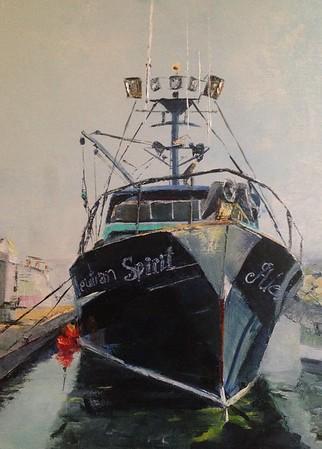 """SPIRIT"" (oil) by Shannon Celia"