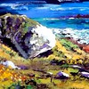 """atlantic coast, galway"" (acrylic) by Allan Coyle"