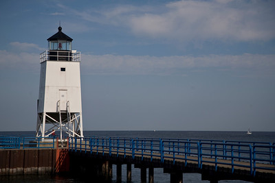 Light on Lake Michigan at Charlevoix, Michigan