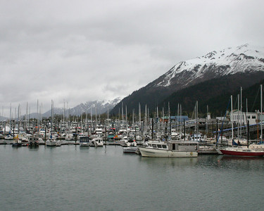 Harbor in Sewart, AK in November
