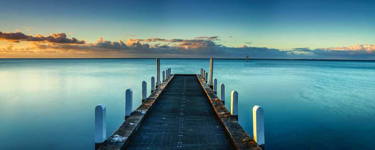 Oliver's Hill Pier, Frankston South, Victoria, Australia