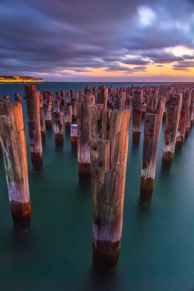 The Wharf Graveyard