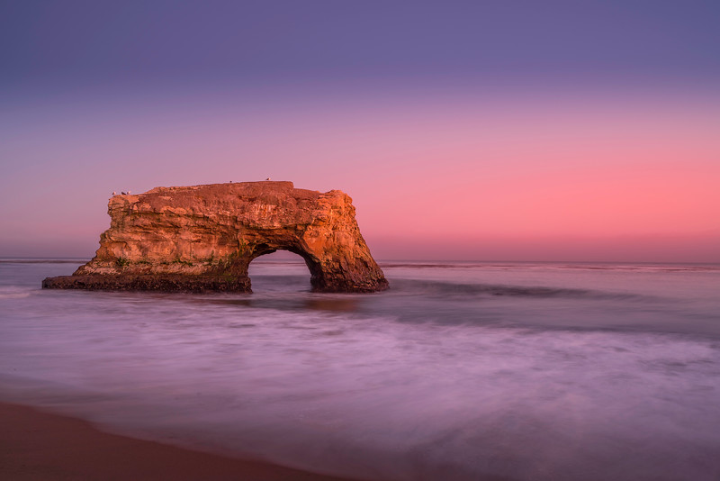 Natural Bridges at Sunset