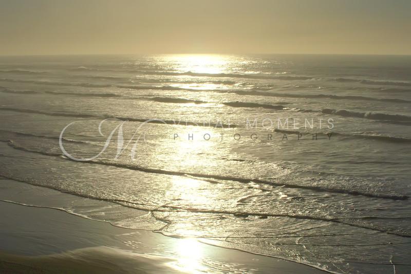 Liquid Gold Paints the Sea