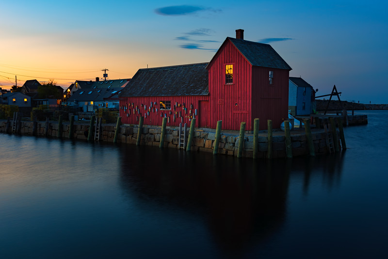 Rockport After Sunset