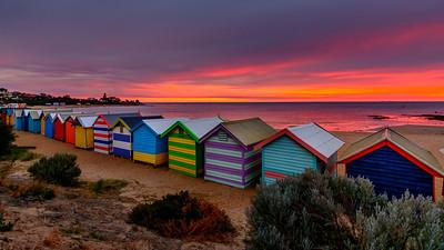 Beach Boxes - Brighton Beach