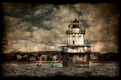 """Butler Flats Lighthouse"" New Bedford, MA December 20th, 2011"