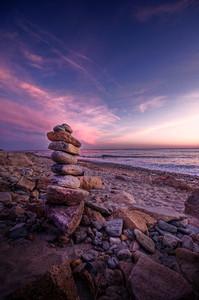 """Gooseberry Sunset"" Gooseberry Island Westport, MA May 19th, 2012"