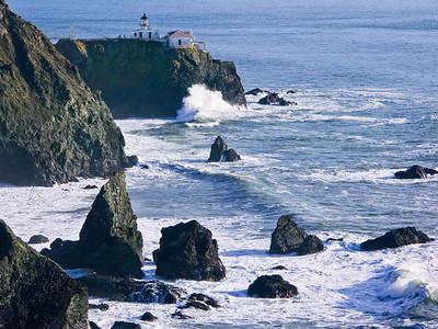 Point Bonita Light, Golden Gate Entrance