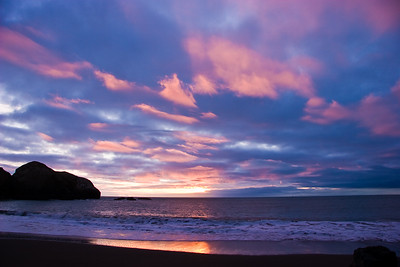 South Rodeo Beach Sunset
