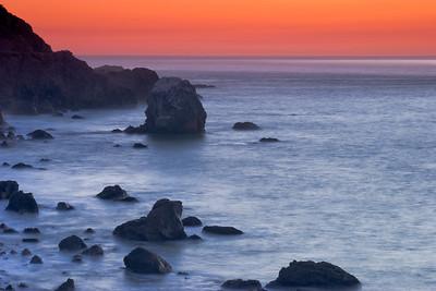 Mile Rock Beach, Golden Gate, San Francisco