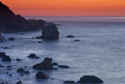 Calm at Sunset - Mile Rock Beach