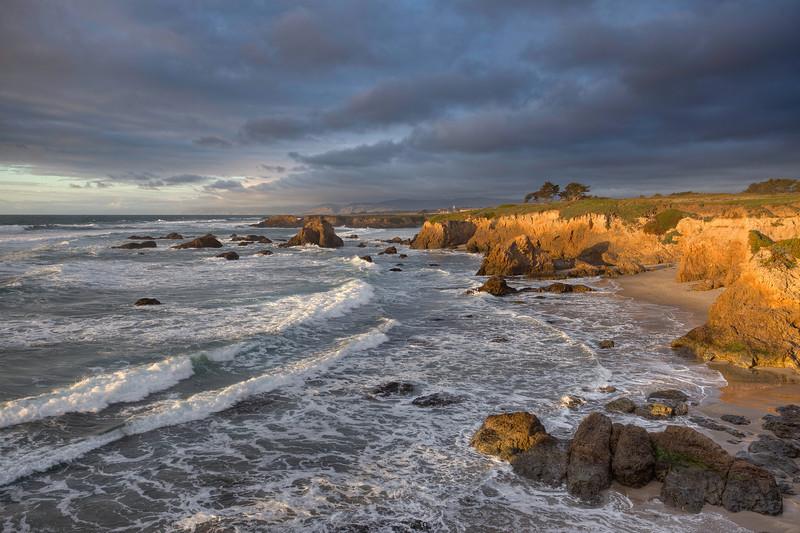 ~ Evening's End at Glass Beach ~  Glass Beach, Ft. Bragg California